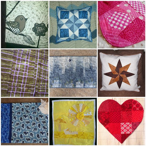 A Closer Look at 9 Project QUILTING 'My Favorite Color' Pieces