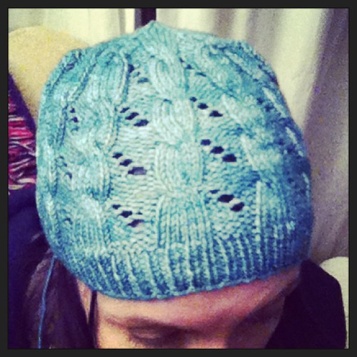 Another hat done. Now my head will be warm in the morning! #hermioneheartsron #knitting