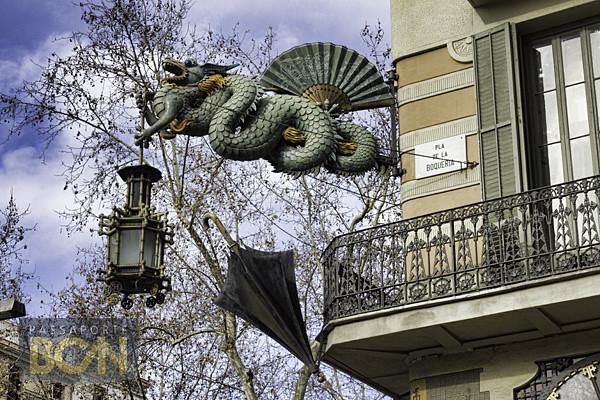 Casa Bruno Cuadros, Las Ramblas, Barcelona