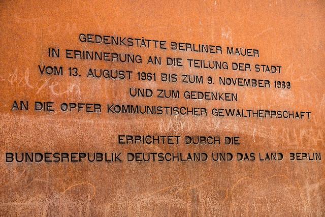 gedenkst228tte berliner mauer flickr photo sharing