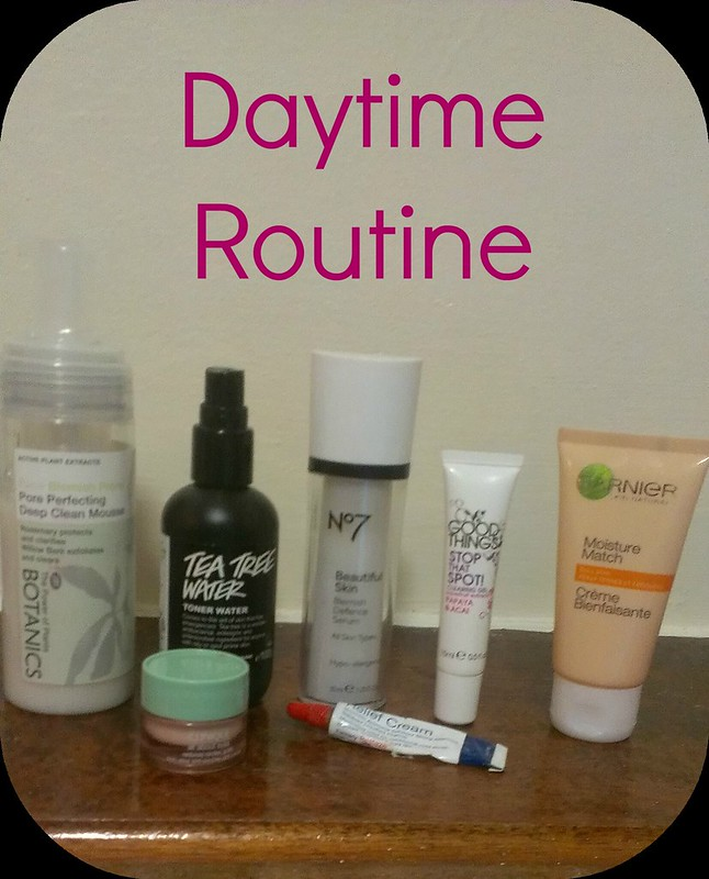 Morning Skincare Routine: Lush, Botanics, Clinqiue, Bliztex, Garnier, No7 and Good Things