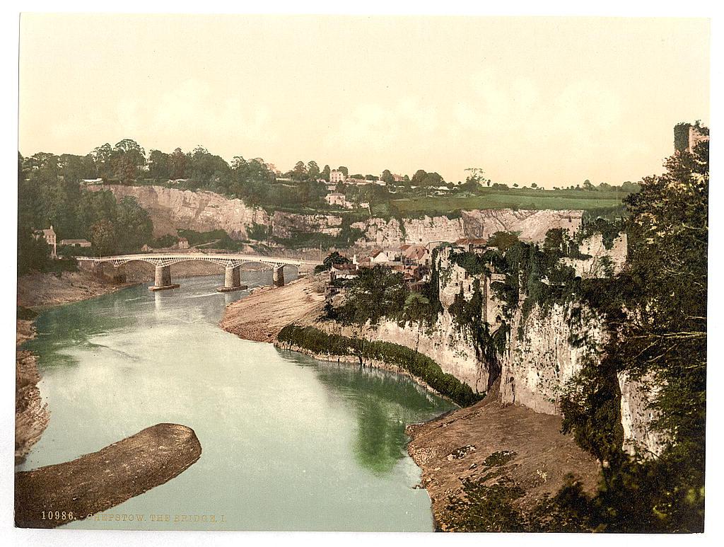 [The bridge, I, Chepstow, Wales]  (LOC)