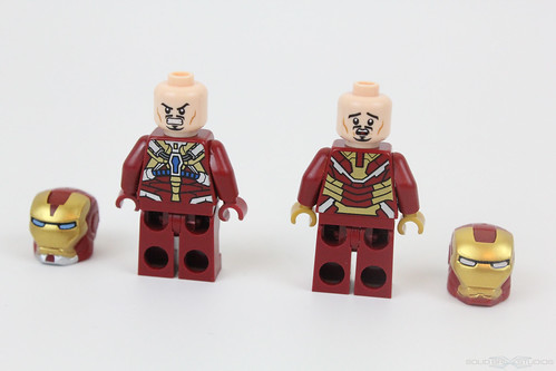 Lego iron man 3 suits mark 8 and mk 42 official 2013 super - Lego iron man 3 ...