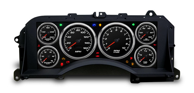 Fox Mustang Performance Gauge Cluster 87-93 From Nvu