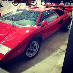 race car, automobile, vehicle, automotive design, lamborghini countach, land vehicle, supercar, sports car,