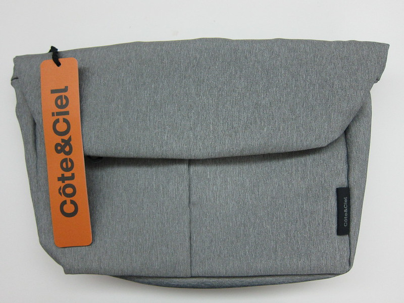 Côte&Ciel - Spree Messenger Bag (Grey Melange) - Front