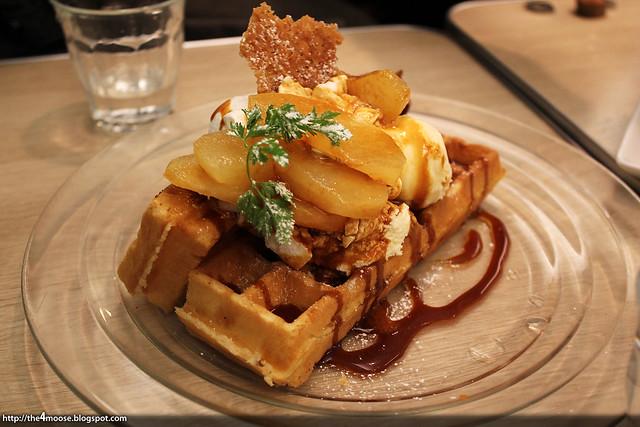 Honeybee - Seasonal Waffle