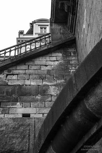 Prague BW by Zdenek Papes