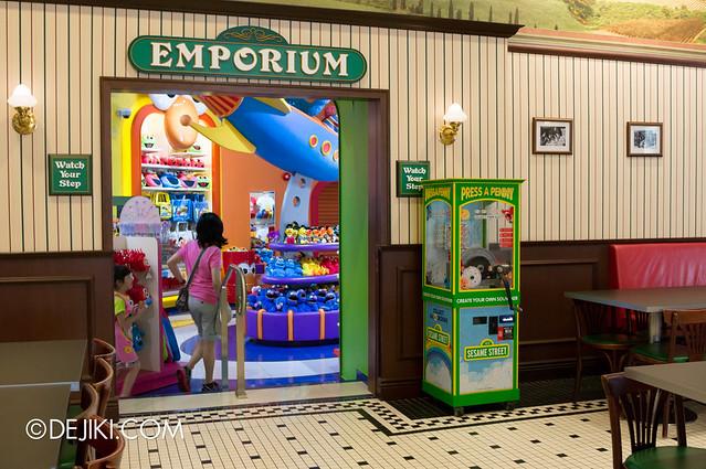 Sesame Street - Press a Penny machine's new location