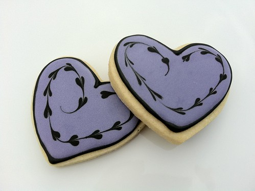 Cookies for Cauderys 02 - Heart cookies