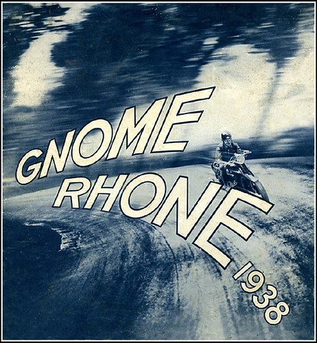 1938 Gnome Rhone Motorcycles by bullittmcqueen