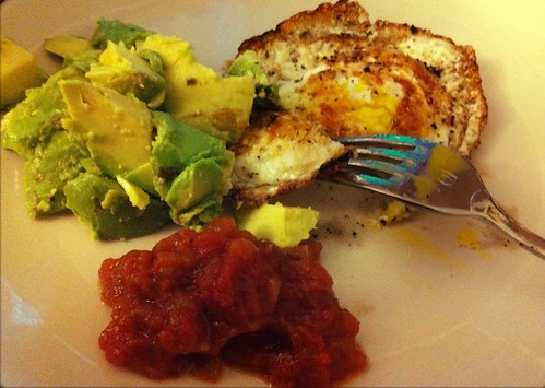 Eggs, Avocado, Salsa