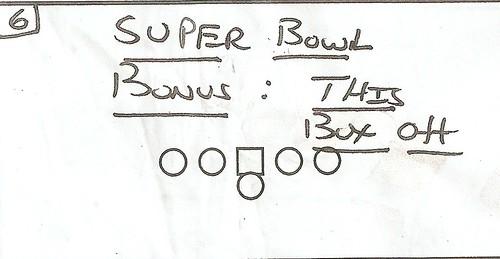 Foto x Super Bowl bonus