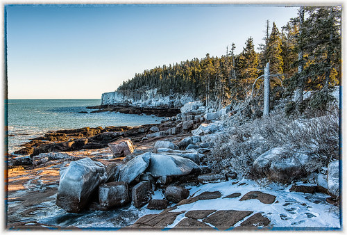winter snow nikon maine ottercliffs d800 acadianationalpark mygearandme