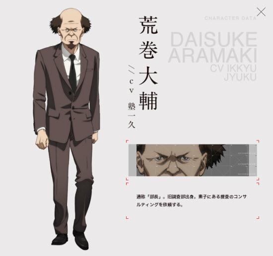 Daisuke Aramaki(荒巻大輔)CV Ikkyu Jyuku(塾一久)