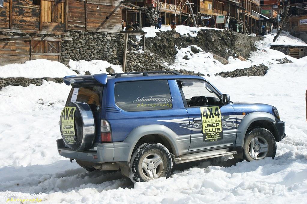 Muzaffarabad Jeep Club Neelum Snow Cross - 8471820034 3e9d487671 b