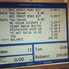 Must be my lucky day! 2/13/2013. The day my grocery bill was exactly $100.00 - and had 21 items.