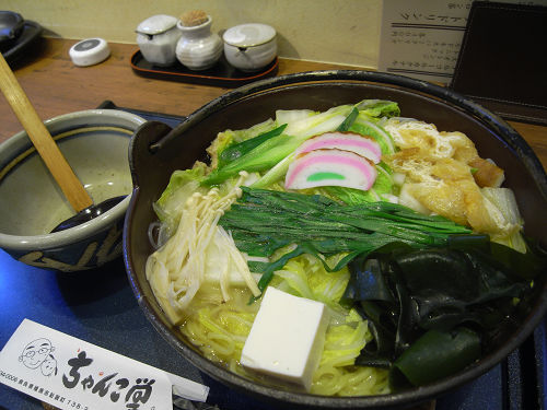 ちゃんこ専門店らしい絶品スープ『ちゃんこ堂』@橿原市