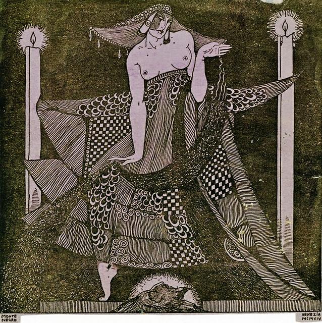 Montenegro, Roberto (1887-1968) - 1914 Salome Paris 1910 (Private Collection)