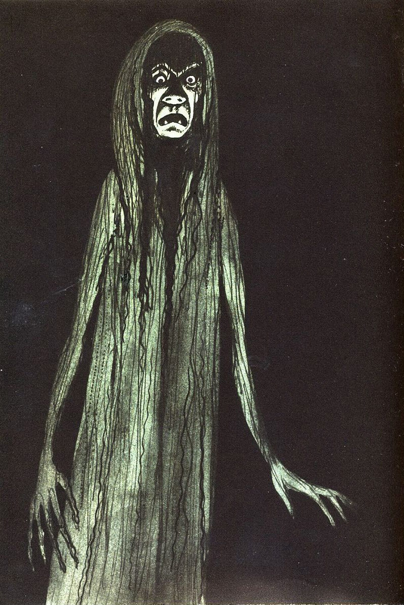 Miroslav Váša - Illustrations from The Bugaboos Or Little Natural History Of The Spooks, Ghosts And Phantoms, 1961 (8)