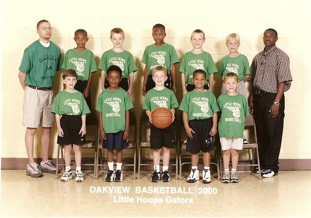 Oakview Basketball 2000 - Little Hoops Gators