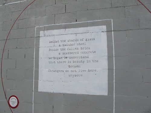 Poetry on Colombo Street