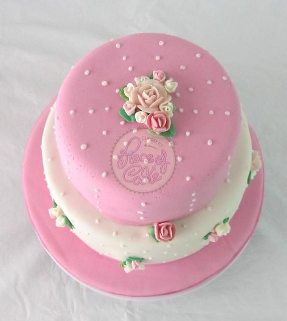 Vintage tier cake torta de pisos estilo shabby chic - Estilo shabby chic ...
