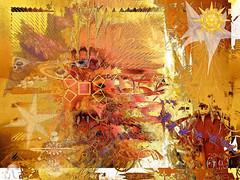 "Self-Portrait OF Zone or Ting ""My Metamorphosis of LifE"""