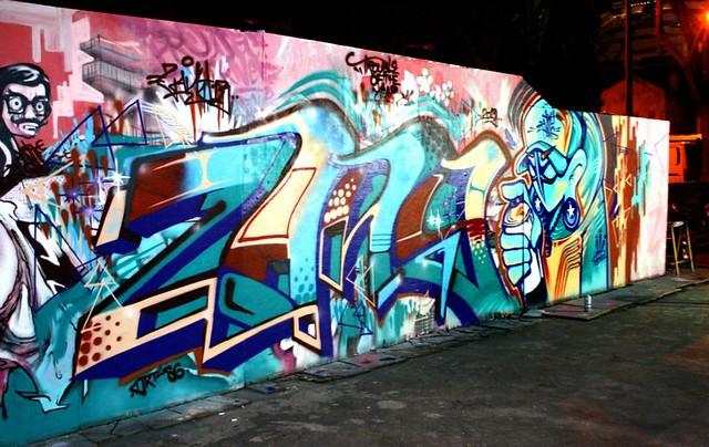 Zany13 x Slac satu, Singapore