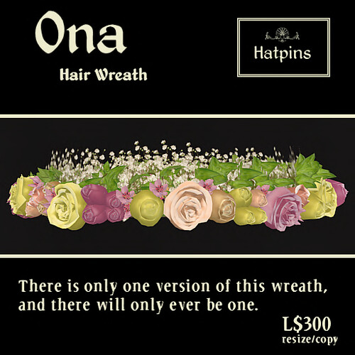 Hatpins - Ona Wreath - Advert - copy_mod