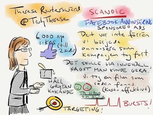 [SE] #sketchnotes från @TrulyTherese:s session på #ssmx