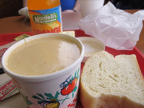 Maine lobster bisque by Coyoty