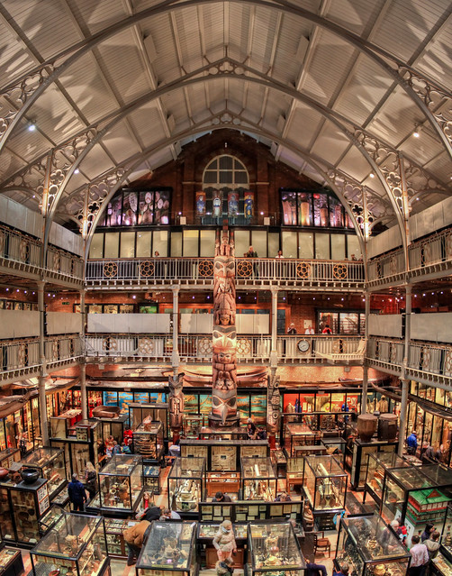 0344 - England, Oxford, Pitt Rivers Museum HDR