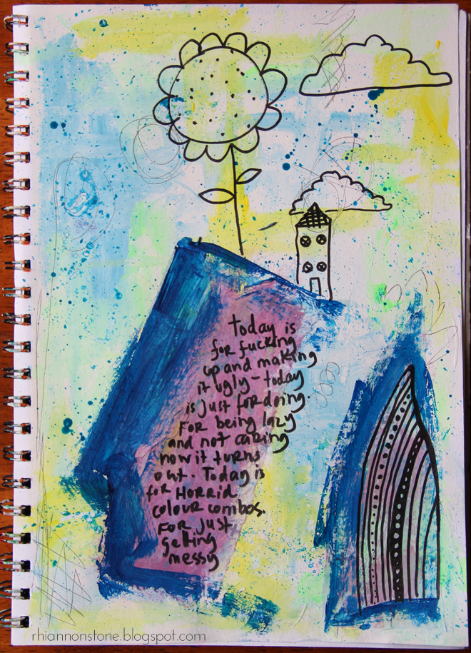 Art Journal Page #22