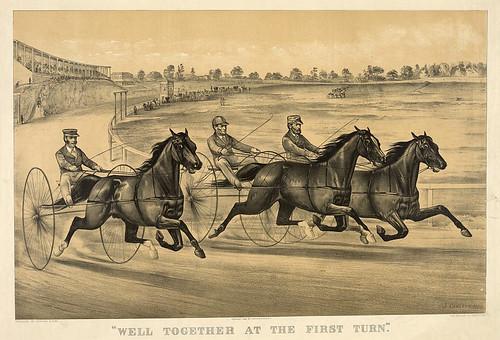 017-Imagen carreras caballos trotones-Library of Congress