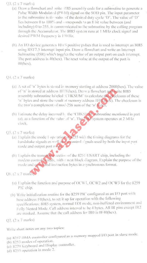 NSIT: Question Papers 2009 – 6 Semester - End Sem - EC-COE-IC-311