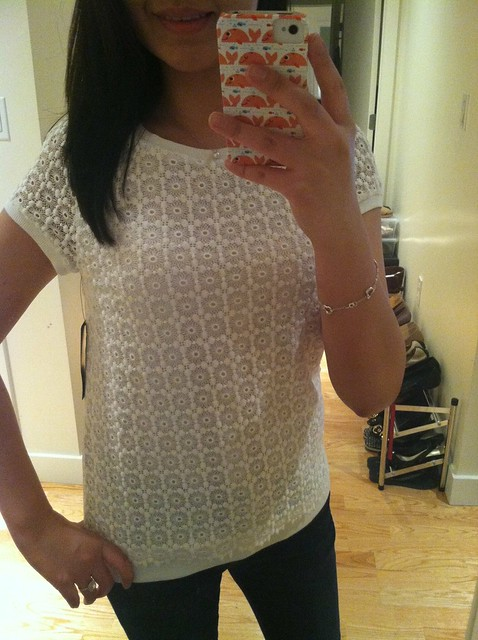 Zara floral lace top (Ref. 1639/050)