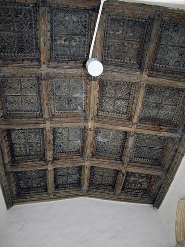 South porch ceiling