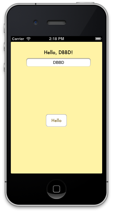 My First iOS App