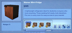 Manse Mini-Fridge