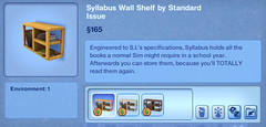 Syllabus Wall Shelf by Standard Issue