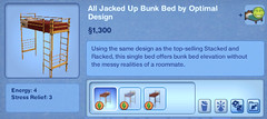 All Jacked Up Bunk Bed by Optimal Design
