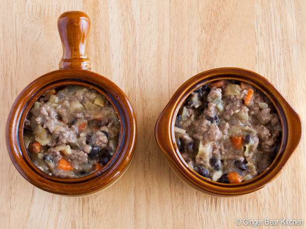 beef pot pie for two | ginger bear kitchen
