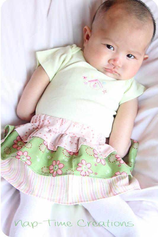 infant skirt free pattern 2
