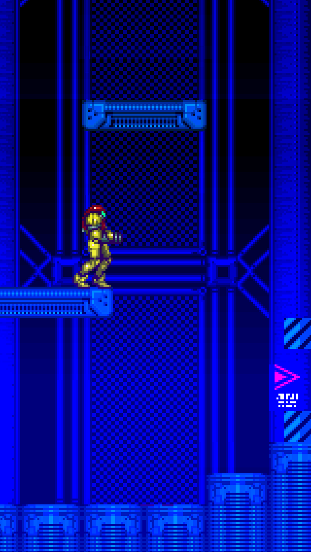 Super Metroid iPhone 5 wallpaper