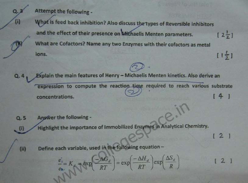 NSIT Question Papers 2012 – 6 Semester - Mid Sem - BT-315