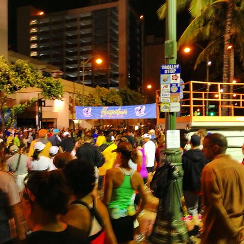 Hapalua 1/2 Marathon Start Line