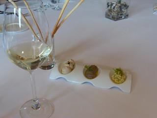 Uno de los platos que probamos en Cepa 21 (Valladolid)