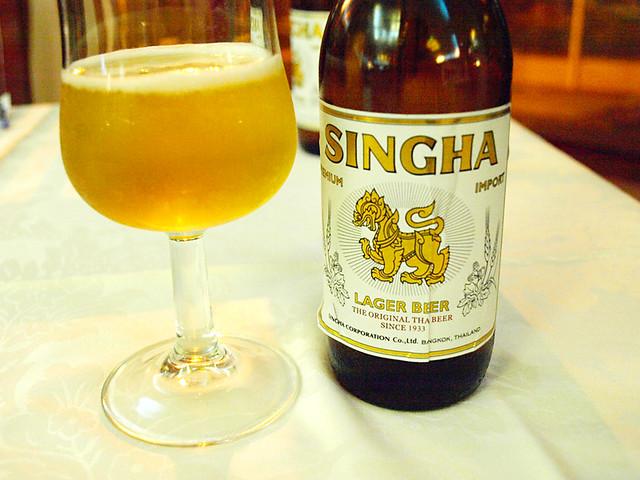 Singha Beer, Ruen Thai, Puerto de la Cruz