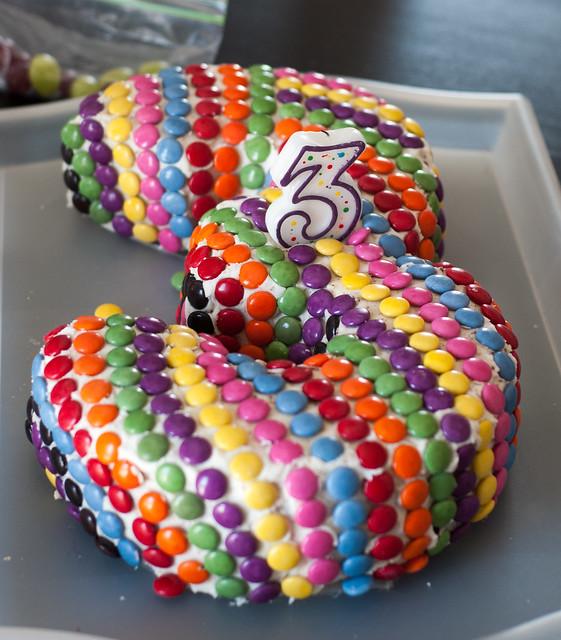 Smartie Cake Images